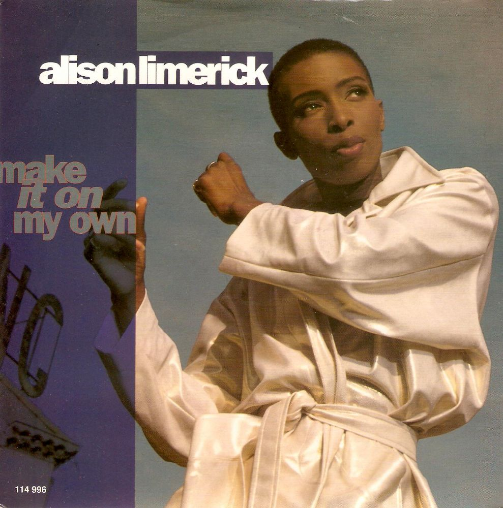 ALISON LIMERICK Make It On My Own Vinyl Record 7 Inch Arista 1992
